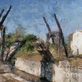 Bridge at Arles -Pont de Langlois by Dragica Micki Fortuna