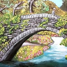 Bridge In The Forest a by Irving Starr
