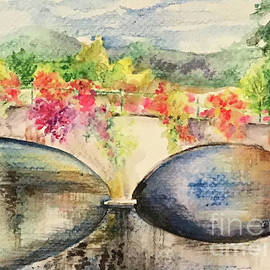 Bridge of the Flowers by Laurel Adams
