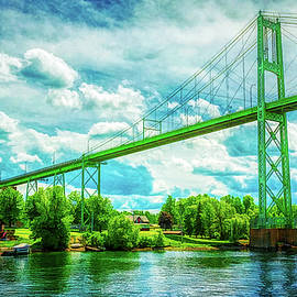 Bridge on St.Laurent River at Thousand Islands by Tatiana Travelways