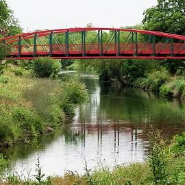 Bridge over San Antonio River, San Antonio River Walk by John Rutledge