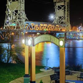 Bridge Portage Lake Lift Houghton Michigan 4369 by Norris Seward