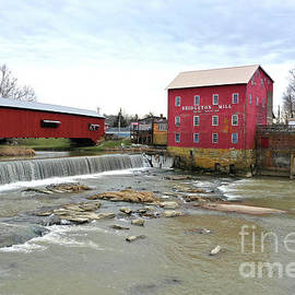 Bridgeton Mill and Coverbridge by Dwight Cook