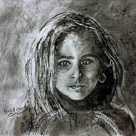 Bright eyes by Khalid Saeed