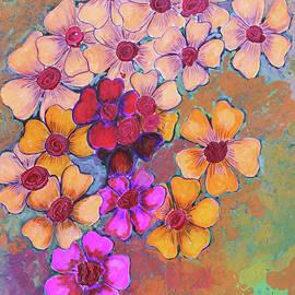 Bright flowers by Pallavi Sharma
