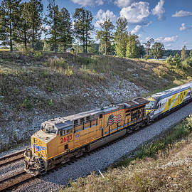 Brightline Commuter Trainset at Nortonville KY by Jim Pearson