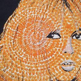 Brigitte Bardot original painting by Sol Luckman