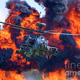 British Army Apache display by Andrew Knott