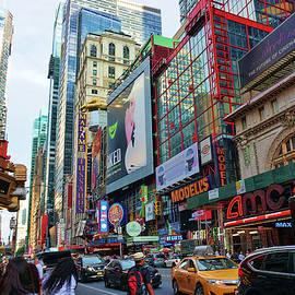 Broadway New York City by Barbara Elizabeth