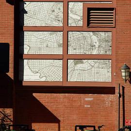 Broken Map of Philadelphia by Clay Cofer
