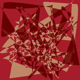 Broken mirror 1 - Geometric Abstract by Western Exposure