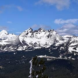 Broken Top from Tumalo Mountain by Dana Hardy