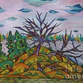Broken Tree Island by Bradley Boug