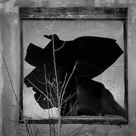 Broken Window I BW by David Gordon