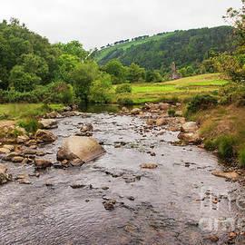 Brook at Glendalough by Ruth H Curtis