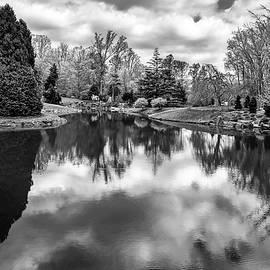 Brookside Gardens Pond Reflections #2 by Stuart Litoff