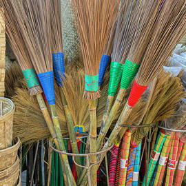 Brooms and Mats by Lindley Johnson