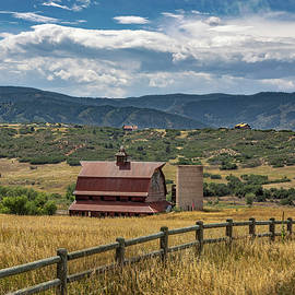 Brown Barn by Lorraine Baum