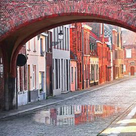 Bruges Belgium European Street Scenes  by Carol Japp