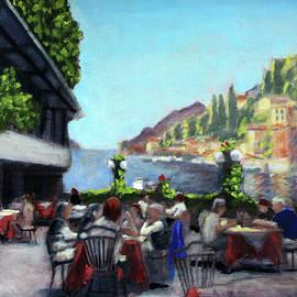 Brunch on Lake Como by David Zimmerman
