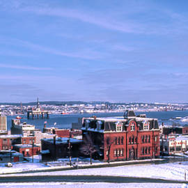 Brunswick Street from Citadel Hill late 1970s / early 1980s by Ken Morris