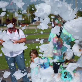 Bubble Storm  by Chris Mercer
