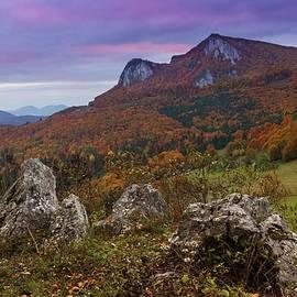 Buces Vulcan in autumn by Cosmin Stan