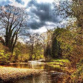 Buckden River Wharfe in Wharfedale Yorkshire Dales by Paul Thompson