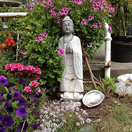 Buddha Garden by Ron McMath