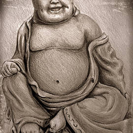 Buddha sepia ver by Andrew Read