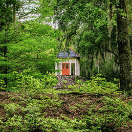 Buddha Temple - Avery Island Jungle Gardens by Scott Pellegrin