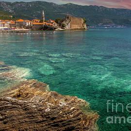 Budva Montenegro by Mitch Shindelbower