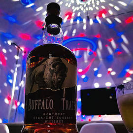 Buffalo Stampede in a Disco by Lee Darnell