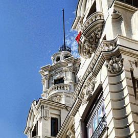 Architectural Detail # 9 - Madrid by Allen Beatty