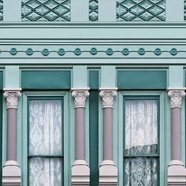 Building Detail - Hannibal - Missouri by Nikolyn McDonald