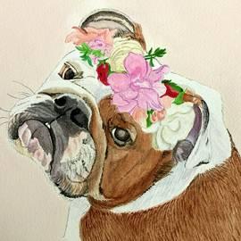 Bulldog Bridesmaid by Sonja Jones