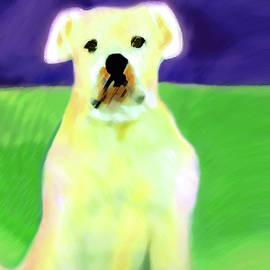 Bulldog Rana Art 83 by Miss Pet Sitter