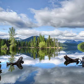 Bumping Lake Reflections by Loyd Towe Photography