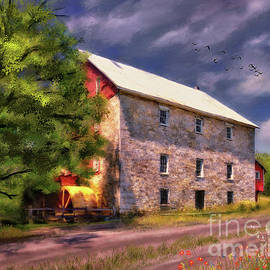 Bunker Hill Mill by Lois Bryan