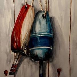 Buoys II by Mary DeLawder