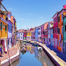 Burano Byways by Kay Brewer
