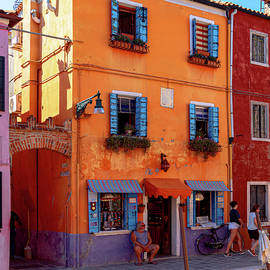 Burano Storefront by Andrew Cottrill
