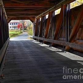 Burkeville Covered Bridge  by Steve Brown