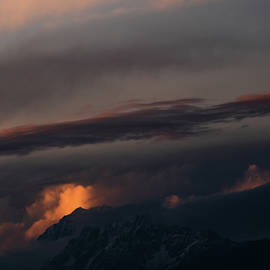 Burning Clouds. by Shubham Sahay