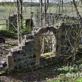 Burnt house 1 by Esko Lindell