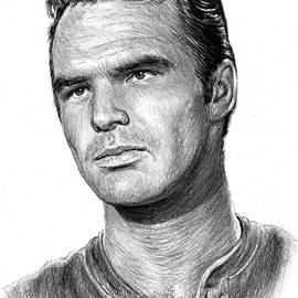 Burt Reynolds as Quint by Andrew Read