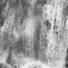 Bushkill Waterfall Sheet Of Water by John Telfer
