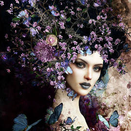 Butterflies and Blossoms by Shanina Conway