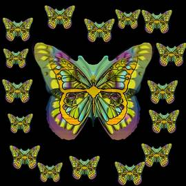 Butterflies With Wings Of Freedom And Love Life by Pepita Selles