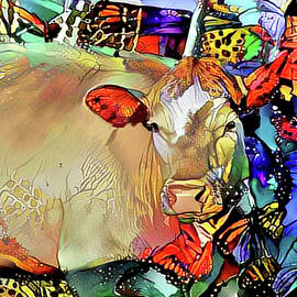 Butterfly Cow by Elaine Berger